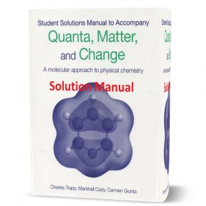 download free Student's solutions manual to accompany Quanta, Matter & Change: A Molecular Approach to Physical Chemistry pdf