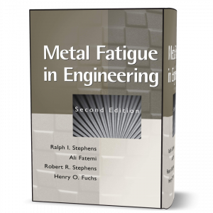 download free Metal Fatigue in Engineering Ralph I. Stephens 2nd edition book in pdf format