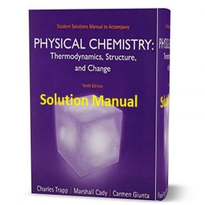 Student solutions manual to accompany Atkins physical chemistry, 10th edition pdf ebook