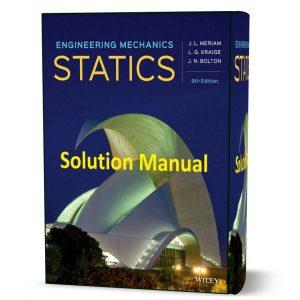 download free Engineering Mechanics Statics Solution Manual 9th edition J.L. Meriam book in pdf format