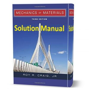 download free Solution Manual of Mechanics of Materials third ( 3rd ) edition by Roy Craig book in pdf format | gioumeh