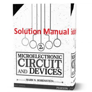 download free Microelectronic Circuits and Devices 2nd edition written by Horenstein Solution Manual eBook in pdf format