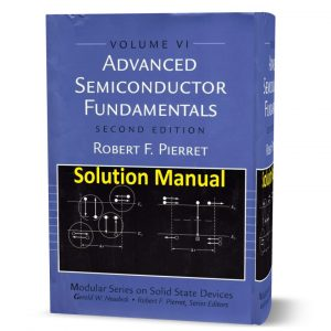 download free Solution manual ( solutions ) of Advanced semiconductor fundamentals second edition book in pdf format | gioumeh.com