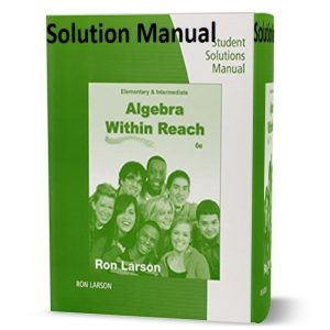download free Student Solutions Manual for Larson's Intermediate Algebra : Algebra within Reach 6th edition book in pdf format