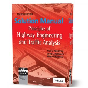 download free principles of highway engineering and traffic analysis 4th edition solutions manual & answers eBook pdf