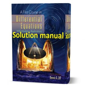 download free a first course in differential equations with modeling applications 9th edition solution manual pdf | Gioumeh solutions